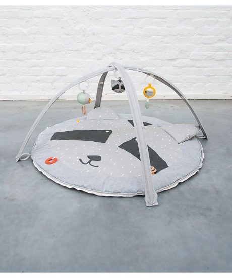 Activity play mat with arches - Mr. Racoon 4