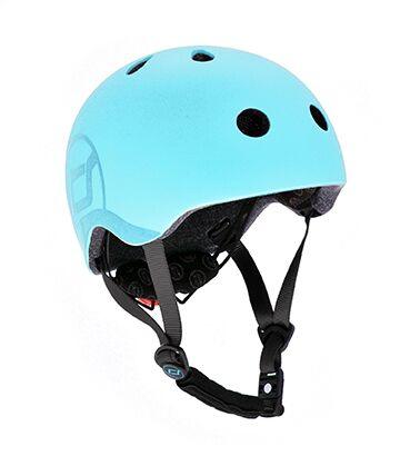 Otroška čelada Scoot&Ride Blueberry S-M