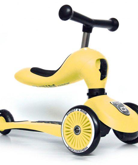 Scoot&Ride® Otroški poganjalec in skiro Highwaykick 1 Lemon