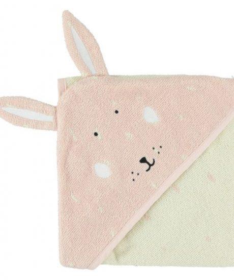 Trixie Brisača s kapuco Mrs. Rabbit 75x75cm